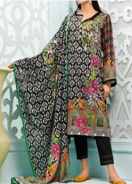 Gul Ahmed Printed Lawn Unstitched 3 Piece Suit GA20ML CLP-52 - Summer Collection