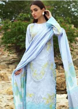 Gul Ahmed Embroidered Lawn Unstitched 3 Piece Suit GAM19-L2 CL-540A - Mid Summer Collection