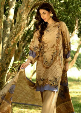 Gul Ahmed Embroidered Lawn Unstitched 3 Piece Suit GAM19-L2 CL-540B - Mid Summer Collection