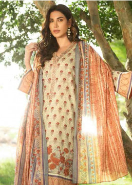 Gul Ahmed Embroidered Lawn Unstitched 3 Piece Suit GAM19-L2 CL-612A - Mid Summer Collection