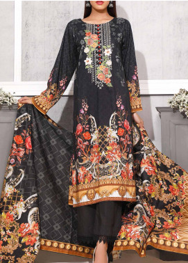 Gul Ahmed Printed Lawn Unstitched 3 Piece Suit GA20SMS CLP-57 - Summer Collection