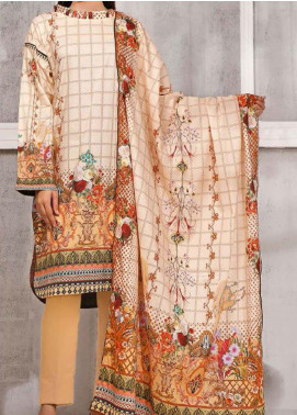 Gul Ahmed Printed Lawn Unstitched 3 Piece Suit GA20SMS CLP-63 - Summer Collection