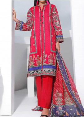 Gul Ahmed Printed Lawn Unstitched 3 Piece Suit GA20SMS CLP-64 - Summer Collection