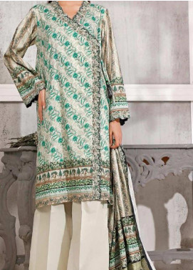 Gul Ahmed Printed Lawn Unstitched 3 Piece Suit GA20SMS CLP-66 - Summer Collection
