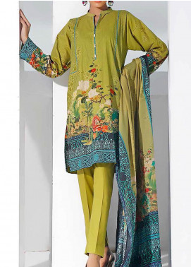 Gul Ahmed Printed Lawn Unstitched 3 Piece Suit GA20SMS CLP-68 - Summer Collection