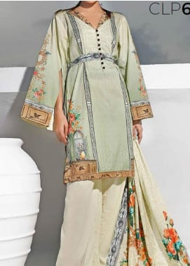 Gul Ahmed Printed Lawn Unstitched 3 Piece Suit GA20SMS CLP-69 - Summer Collection