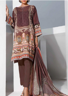 Gul Ahmed Printed Lawn Unstitched 3 Piece Suit GA20SMS CLP-74 - Summer Collection