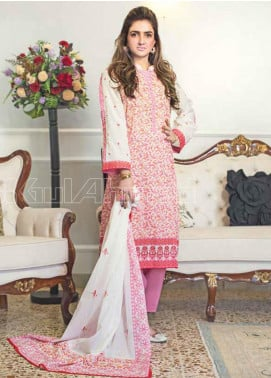 Gul Ahmed Printed Lawn Unstitched 3 Piece Suit GA20MS CL-665B - Spring / Summer Collection