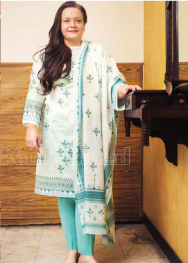 Gul Ahmed Printed Lawn Unstitched 3 Piece Suit GA20MS CL-668A - Spring / Summer Collection