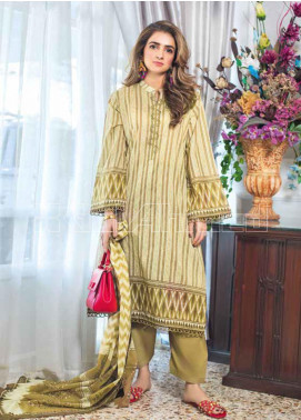 Gul Ahmed Printed Lawn Unstitched 3 Piece Suit GA20MS CL-671A - Spring / Summer Collection