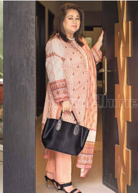 Gul Ahmed Printed Lawn Unstitched 3 Piece Suit GA20MS CL-701A - Spring / Summer Collection