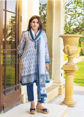 Gul Ahmed Printed Lawn Unstitched 3 Piece Suit GA20MS CL-705B - Spring / Summer Collection