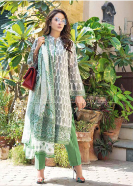 Gul Ahmed Printed Lawn Unstitched 3 Piece Suit GA20MS CL-707A - Spring / Summer Collection