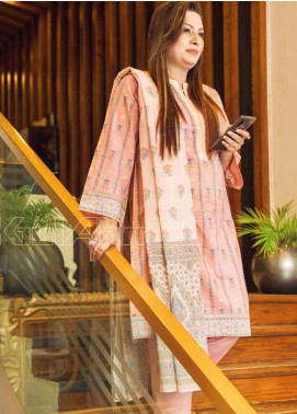 Gul Ahmed Printed Lawn Unstitched 3 Piece Suit GA20MS CL-715B - Spring / Summer Collection