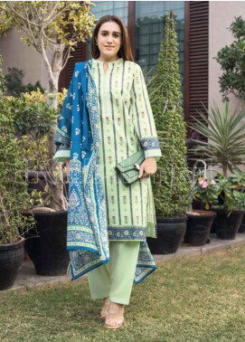 Gul Ahmed Printed Lawn Unstitched 3 Piece Suit GA20MS CL-716A - Spring / Summer Collection
