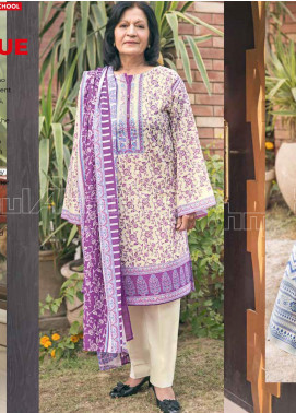 Gul Ahmed Printed Lawn Unstitched 3 Piece Suit GA20MS CL-716B - Spring / Summer Collection