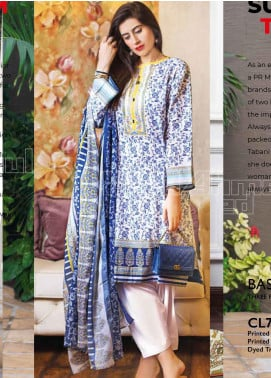 Gul Ahmed Printed Lawn Unstitched 3 Piece Suit GA20MS CL-717A - Spring / Summer Collection
