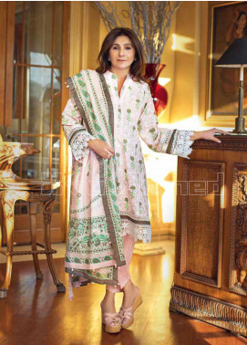 Gul Ahmed Printed Lawn Unstitched 3 Piece Suit GA20MS CL-717B - Spring / Summer Collection