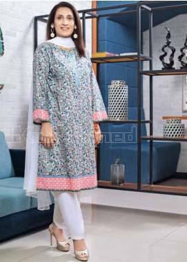 Gul Ahmed Embroidered Lawn Unstitched 3 Piece Suit GA20MS CL-794B - Spring / Summer Collection