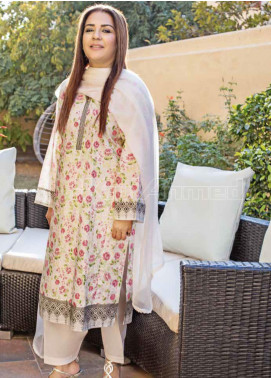 Gul Ahmed Printed Lawn Unstitched Kurties GA20MS SL-757 - Spring / Summer Collection