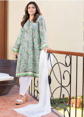 Gul Ahmed Printed Lawn Unstitched Kurties GA20MS SL-758 - Spring / Summer Collection