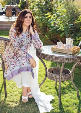 Gul Ahmed Printed Lawn Unstitched Kurties GA20MS SL-760 - Spring / Summer Collection