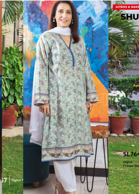 Gul Ahmed Printed Lawn Unstitched Kurties GA20MS SL-761 - Spring / Summer Collection
