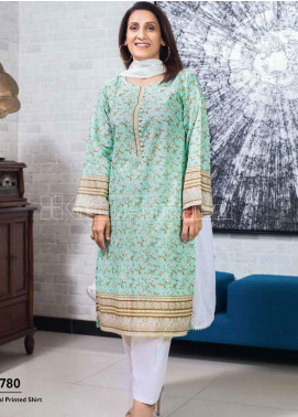 Gul Ahmed Printed Lawn Unstitched Kurties GA20MS SL-774 - Spring / Summer Collection