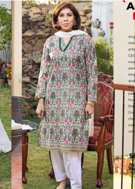 Gul Ahmed Printed Lawn Unstitched Kurties GA20MS SL-783 - Spring / Summer Collection
