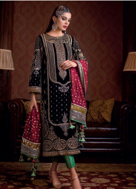 Gul Ahmed Embroidered Velvet Winter Collection 10 Nauratan 2019