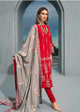 Gul Ahmed Embroidered Khaddar Unstitched 3 Piece Suit GA19PC AYE 04 - Winter Collection