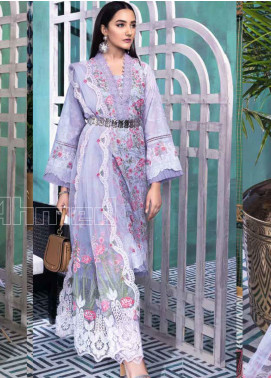 Gul Ahmed Embroidered Swiss Voile Unstitched 3 Piece Suit GA20PL LSV-29 - Spring / Summer Collection