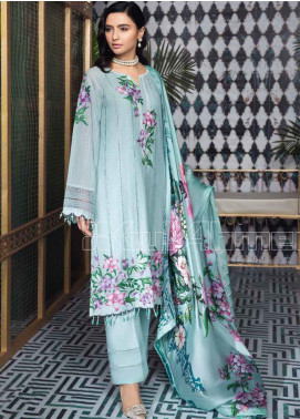 Gul Ahmed Embroidered Swiss Voile Unstitched 3 Piece Suit GA20PL LSV-31 - Spring / Summer Collection