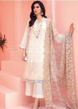 Gul Ahmed Embroidered Jacquard Unstitched 3 Piece Suit GA20PL PM-313 - Spring / Summer Collection