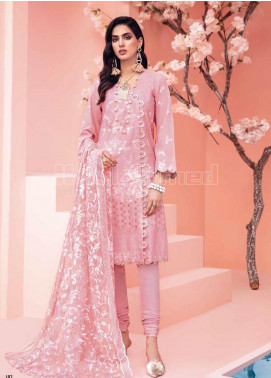 Gul Ahmed Embroidered Zari Unstitched 3 Piece Suit GA20PL PM-331 - Spring / Summer Collection