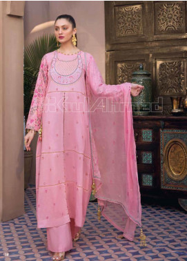 Gul Ahmed Embroidered Jacquard Unstitched 3 Piece Suit GA20PL PM-348 - Spring / Summer Collection
