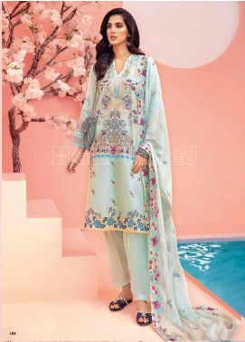 Gul Ahmed Embroidered Zari Unstitched 3 Piece Suit GA20PL PM-356 - Spring / Summer Collection