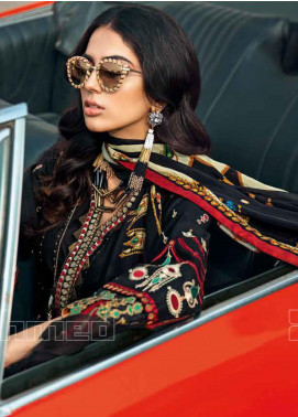 Gul Ahmed Embroidered Zari Unstitched 3 Piece Suit GA20PL SSM-37 - Spring / Summer Collection