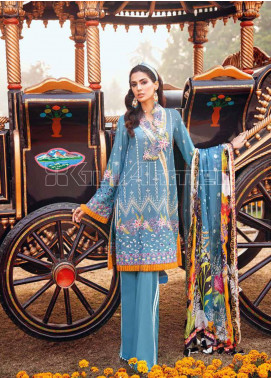 Gul Ahmed Embroidered Zari Unstitched 3 Piece Suit GA20PL SSM-38 - Spring / Summer Collection