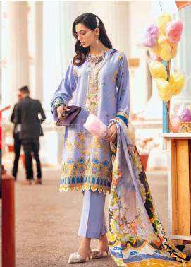 Gul Ahmed Embroidered Zari Unstitched 3 Piece Suit GA20PL SSM-39 - Spring / Summer Collection