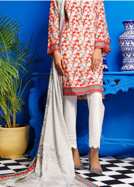 Gul Ahmed Printed Lawn Unstitched 2 Piece Suit GA20SE 11 TLP-16-A - Spring / Summer Collection