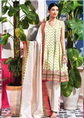 Gul Ahmed Embroidered Lawn Unstitched 3 Piece Suit GA20SBL CL 840 B - Summer Collection