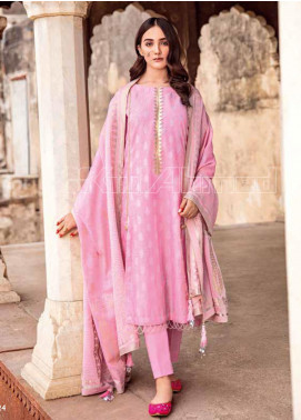 Gul Ahmed Embroidered Lawn Unstitched 3 Piece Suit GA20TJ MJ-37A - Spring / Summer Collection