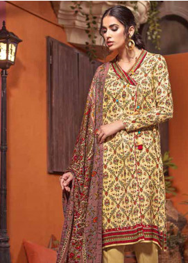 The Colours of Winter by Gul Ahmed Printed Pashmina Unstitched 3 Piece Suit GA20CW AP-31 - Winter Collection