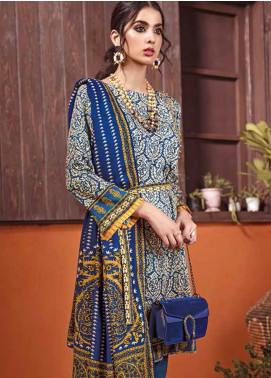 The Colours of Winter by Gul Ahmed Printed Pashmina Unstitched 3 Piece Suit GA20CW AP-32 - Winter Collection