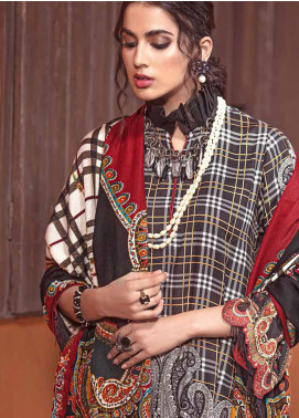 The Colours of Winter by Gul Ahmed Printed Pashmina Unstitched 3 Piece Suit GA20CW AP-33 - Winter Collection