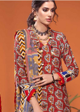 The Colours of Winter by Gul Ahmed Printed Pashmina Unstitched 3 Piece Suit GA20CW AP-34 - Winter Collection