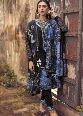 The Colours of Winter by Gul Ahmed Embroidered Corduroy Unstitched 3 Piece Suit GA20CW CD-35 - Winter Collection