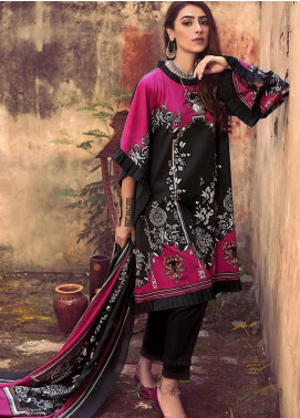 The Colours of Winter by Gul Ahmed Printed Corduroy Unstitched 3 Piece Suit GA20CW CD-37 - Winter Collection