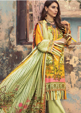 The Colours of Winter by Gul Ahmed Printed Corduroy Unstitched 3 Piece Suit GA20CW CD-39 - Winter Collection